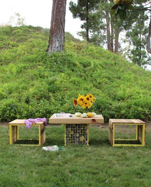 мебель для сада из паллет