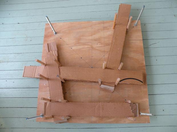 так укладываются слои картона