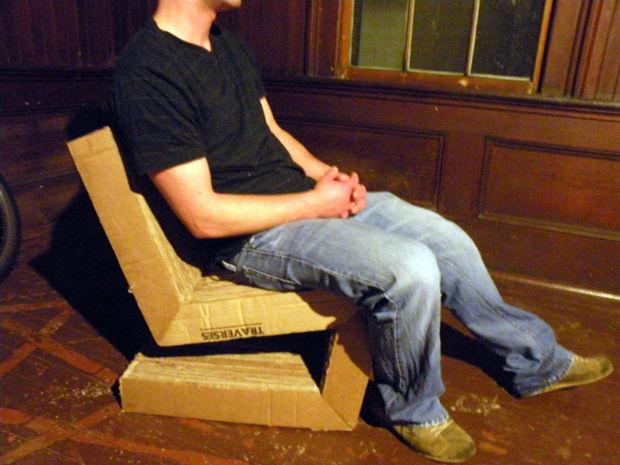 прочный стул готов к использованию