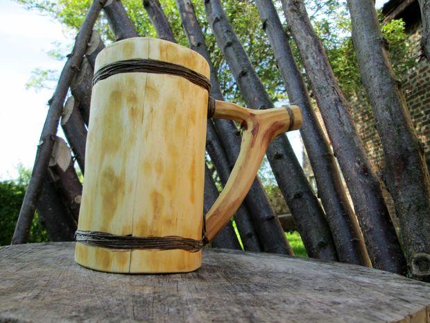 ещё одна деревянная кружка