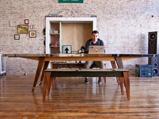 готовый деревянный стол своими руками