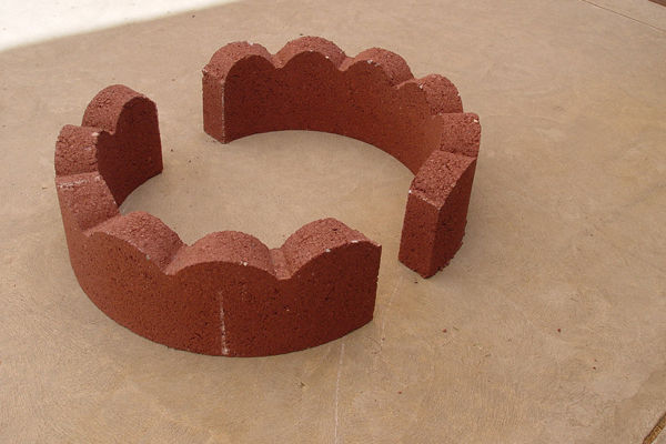 бетонные полукольца