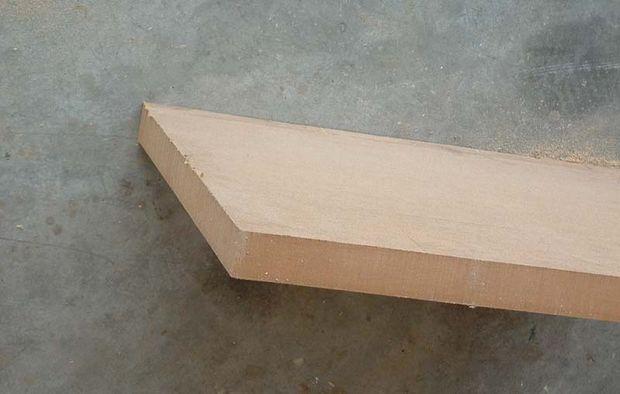 деревянная доска для полки