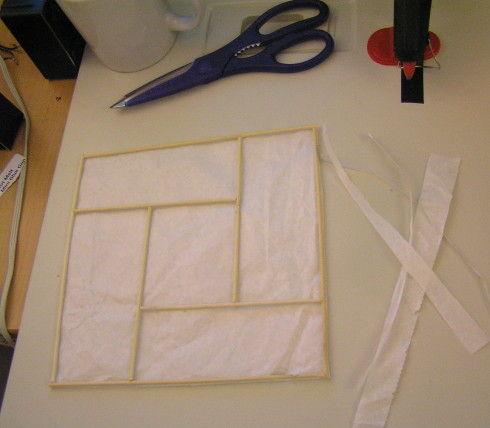 обрезаем излишки бумаги