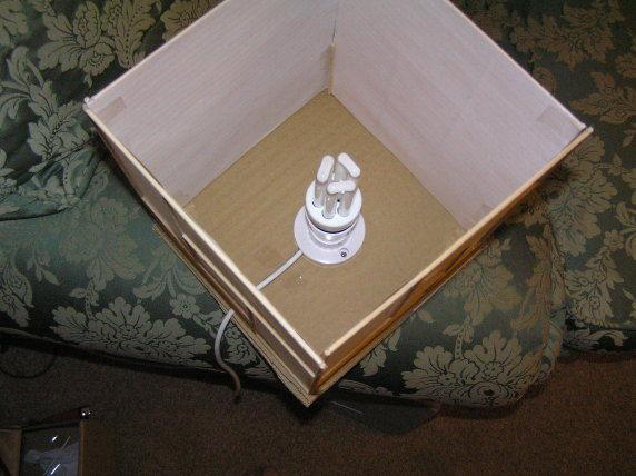 соединённый светильник с патроном