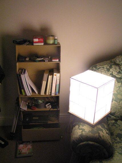 готовый светильник