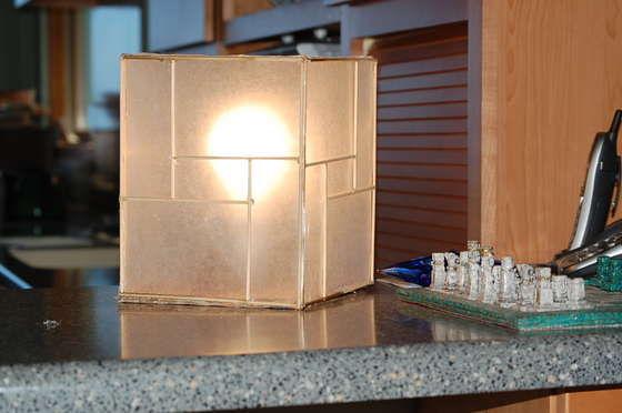 Настольная лампа в японском стиле