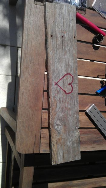 разметка сердца для вырезания