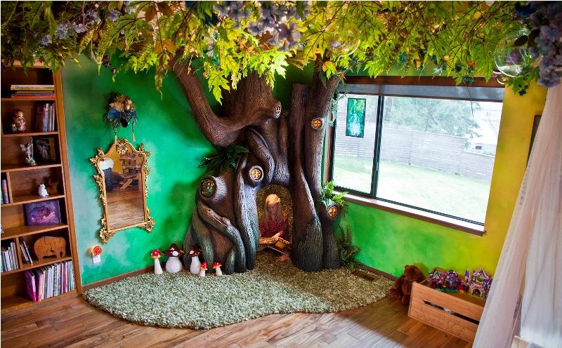 Как сделать волшебное дерево в детской комнате