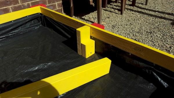 подпорки для сидений в песочнице