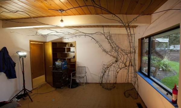 Готовый каркас волшебного дерева