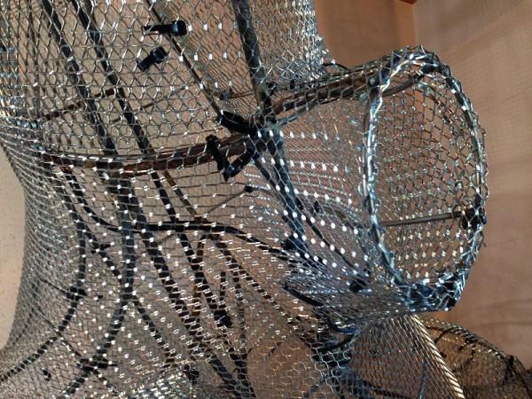 Каркас обтянутый сеткой