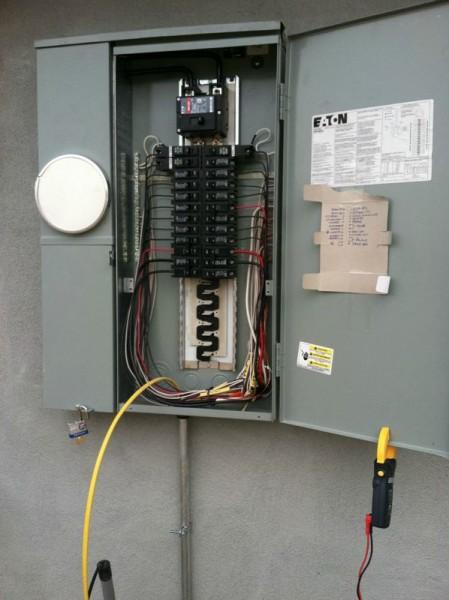 Распределительный электрический щит
