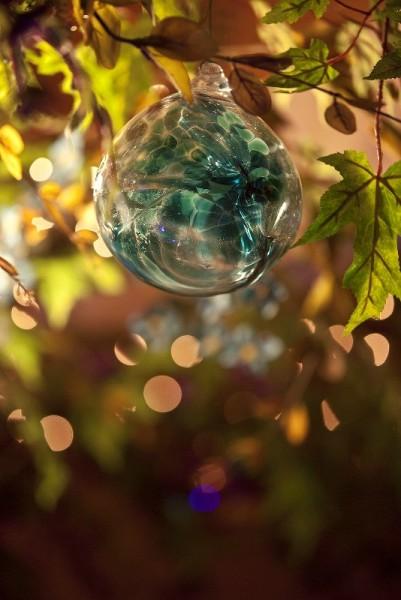 Стеклянный волшебный шар