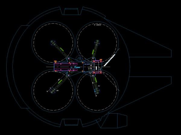 Схема летательного аппартата