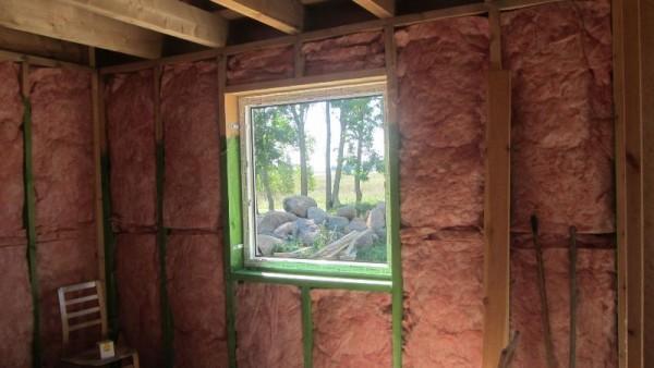Установленное металлопластиковое окно