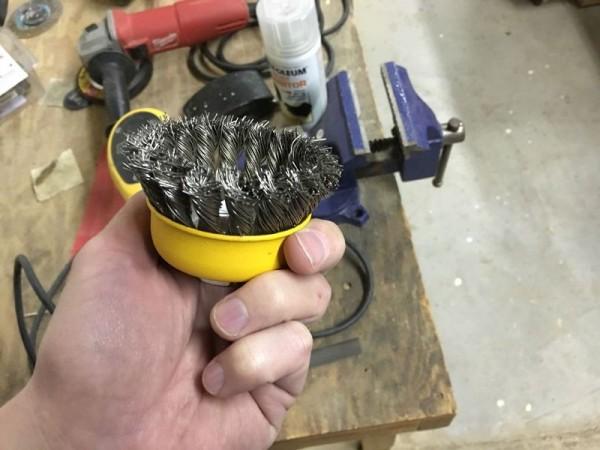 Насадка для шлифования металла