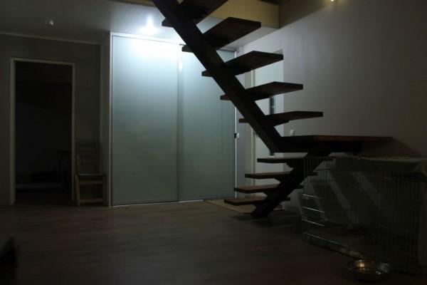 Готовая лестница на второй этаж