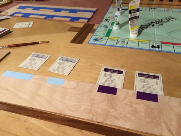 Готовое игровое поле с карточками