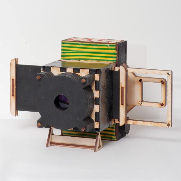 Пример камеры с затвором