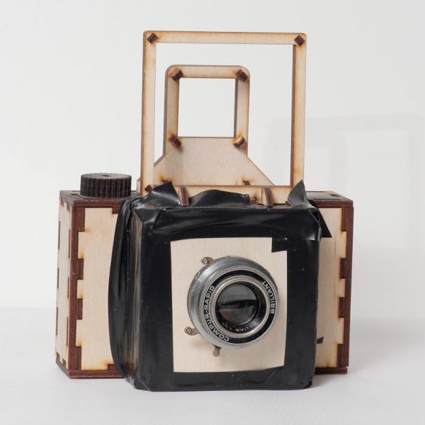 Камера со старым объективом