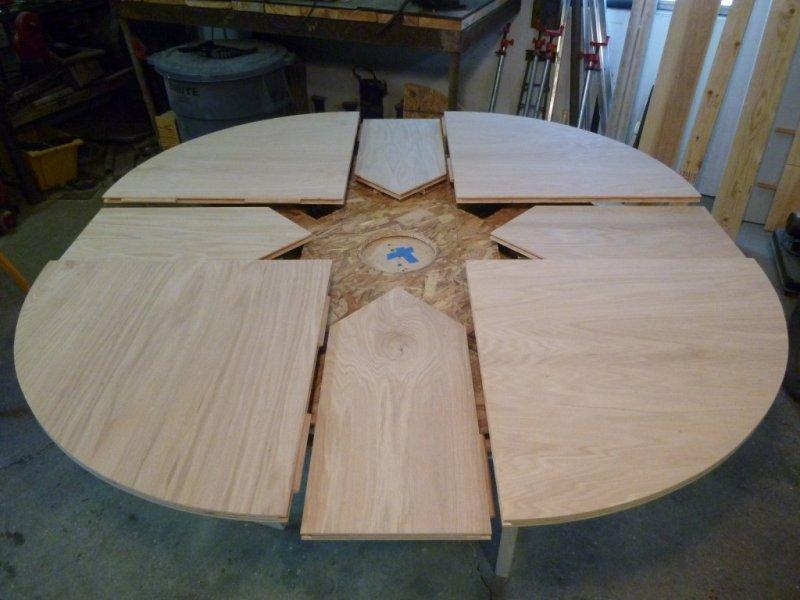 Как сделать круглый стол из фанеры своими руками 26