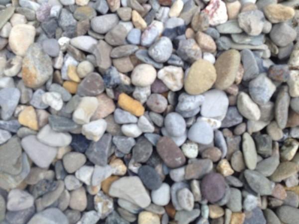 Мелкий речной камень