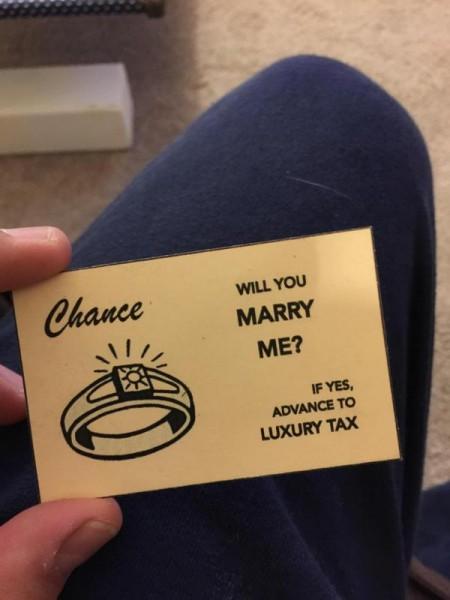 Карточка Шанс, крупным планом
