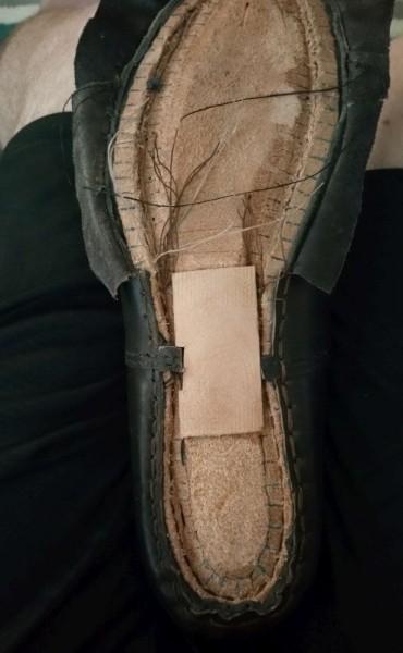 Хвостовики на подошве