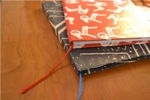 Блокноты с закладками