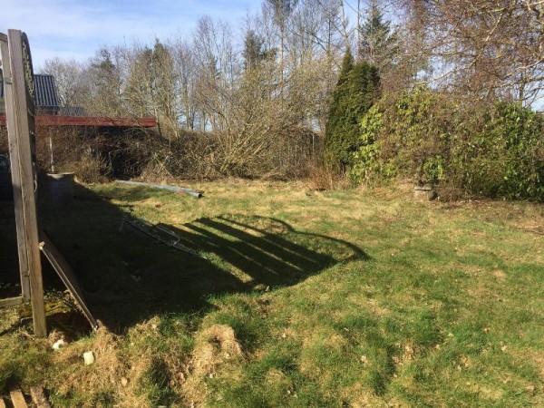 Земельный участок возле дома