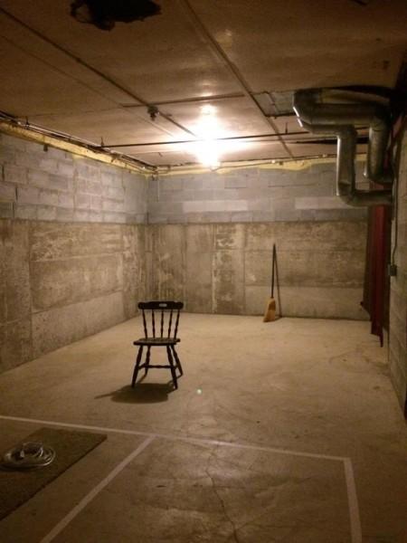 Общий вид комнаты для домашнего кинотеатра