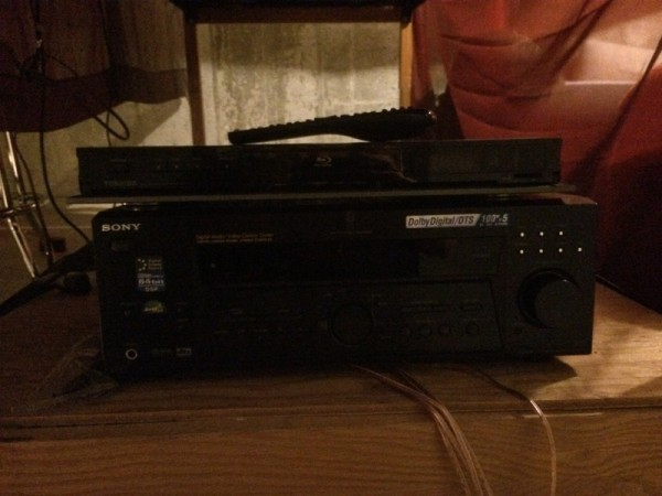 DVD-плеер и звуковая система