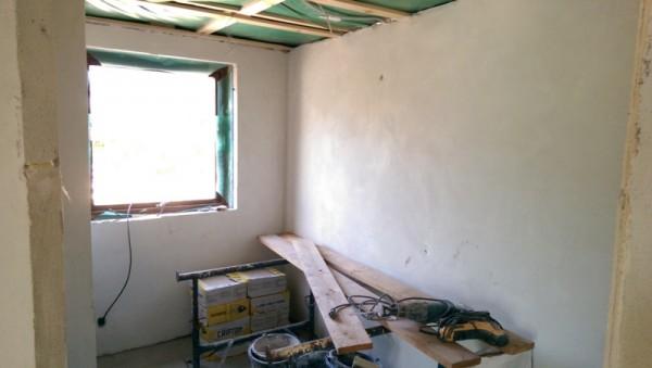 Гладкие стены ванной комнаты