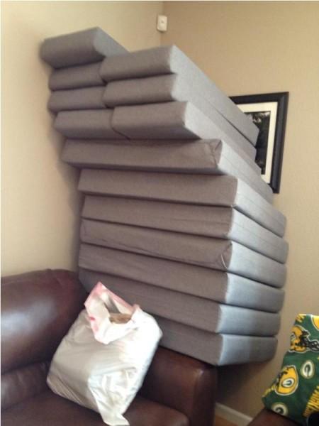 Мягкие подушки для сидений