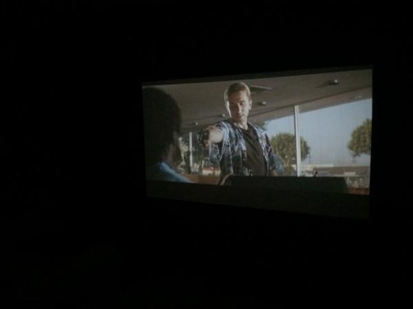 Фильм на большом экране