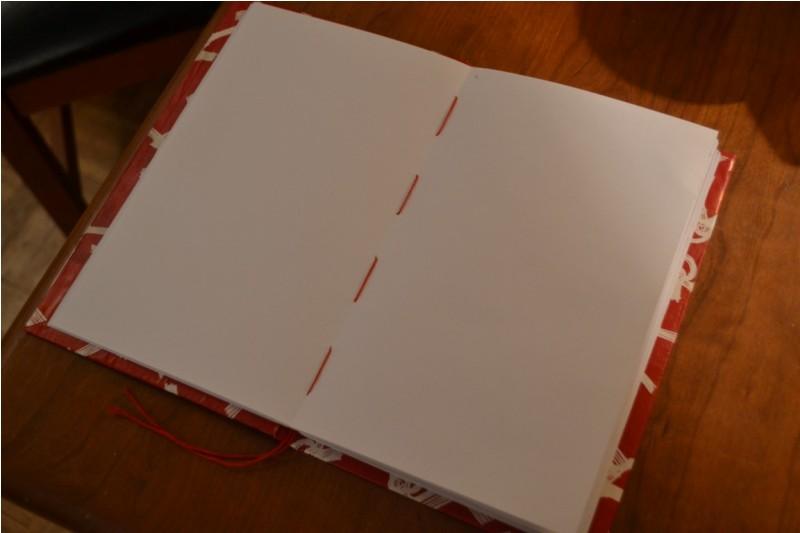 Как сделать блокнот без клея