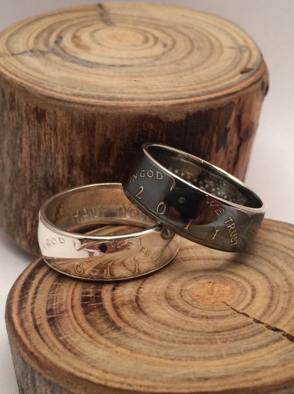 Как сделать красивое кольцо из монеты