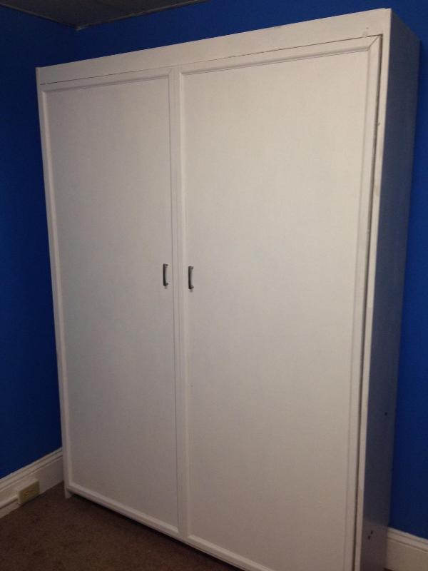 Красивая шкаф кровать своими руками