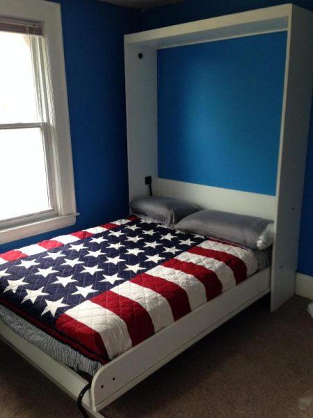 Шкаф кровать в разложенном положении