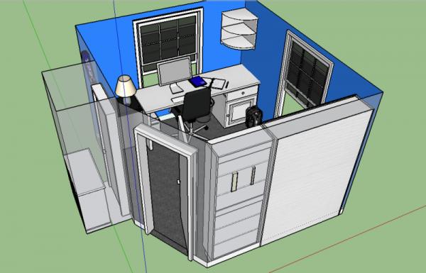 Скриншот планировки комнаты