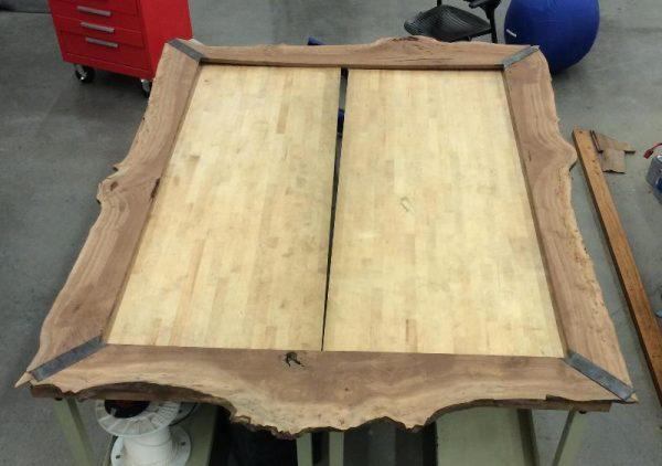 Деревянная рамка кровати с крышкой