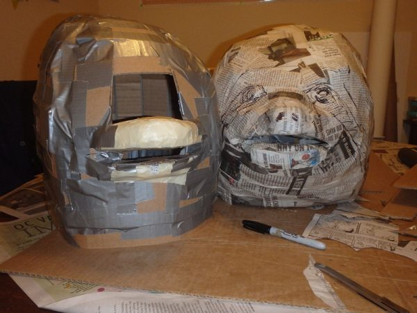 Формы двух масок