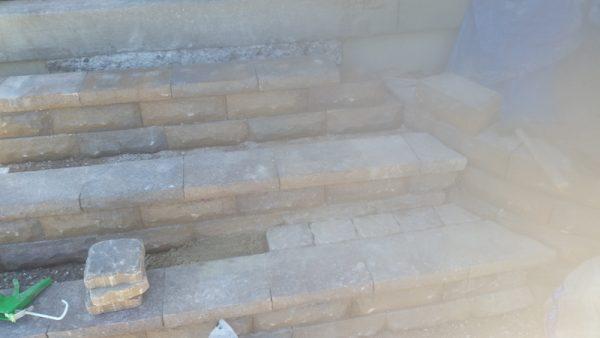 Недостроенная лестница