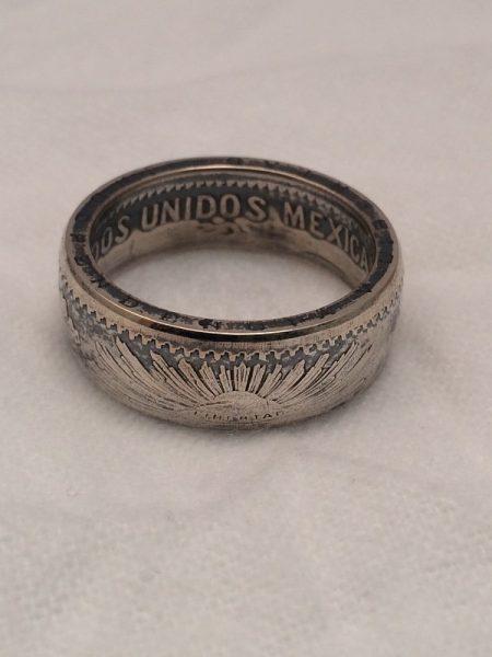Кольцо из мексиканского песо