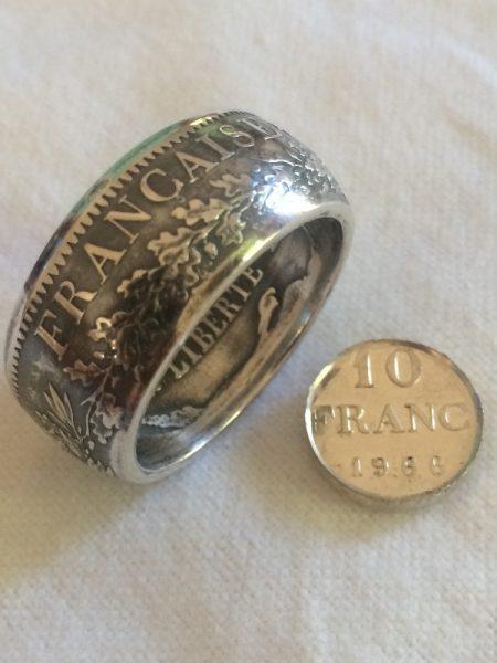 Кольцо из французских франков