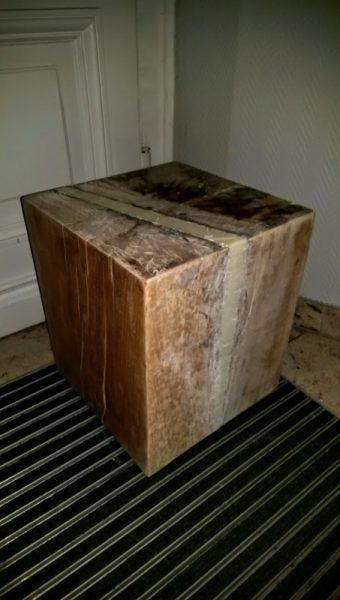 Шлифованный деревянный брус